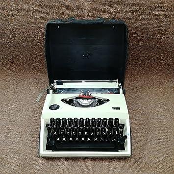 Máquina de escribir años 80 Retro Vintage Vintage Typewriter Typewriter Normal Use
