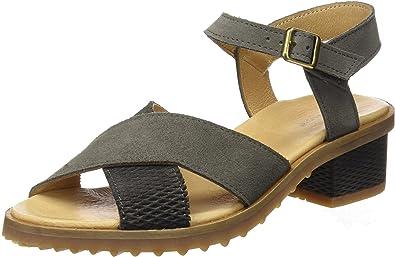 TALLA 39 EU. El Naturalista Sabal, Zapatos de tacón con Punta Abierta para Mujer