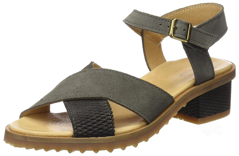 El Naturalista N5015, Zapatos de Tacón con Punta Abierta para Mujer 40 EU