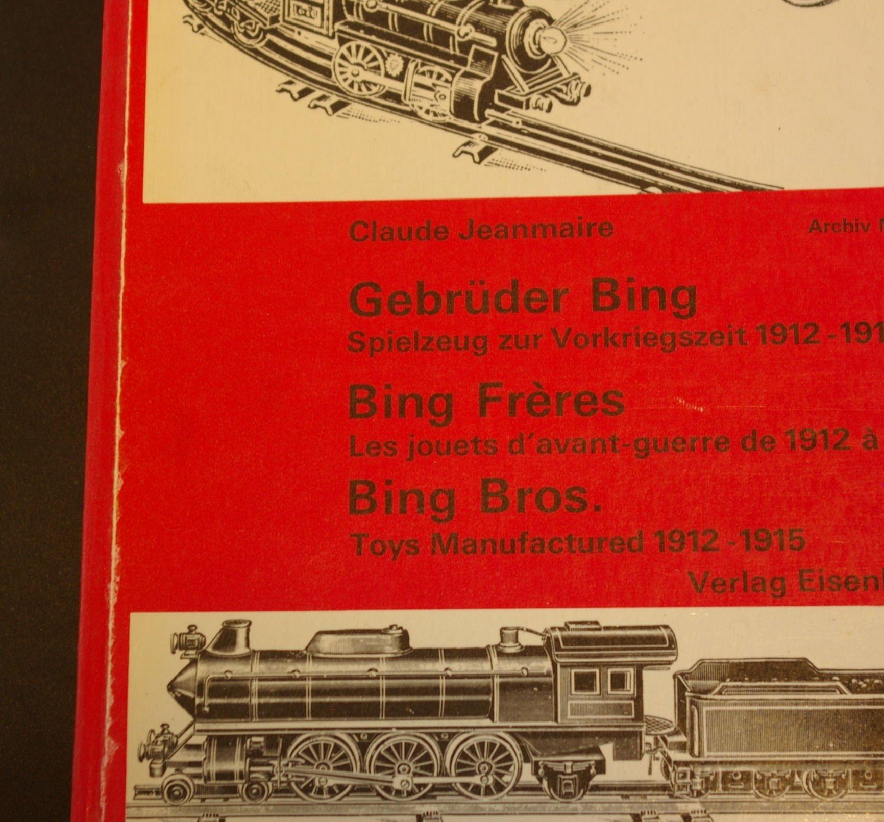 Eisenbahnen NEU Schiffe 3 Bing Bücher für Spielzeugsammler Dampfmaschinen +