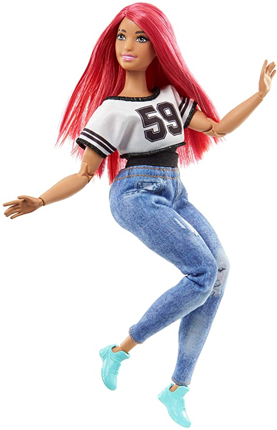 Barbie Quiero Ser bailarina, muñeca con accesorios (Mattel FJB19)
