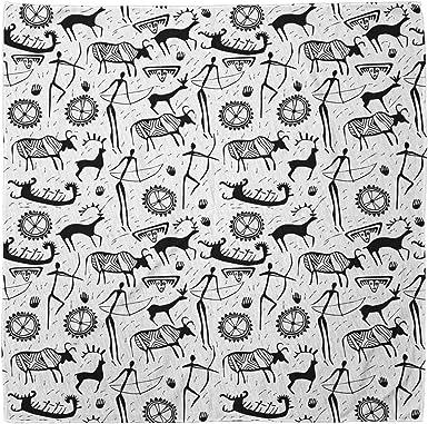 Details about  /Ambesonne Animal Pattern Bandana Printed Unisex Head Neck Tie Scarf Headband