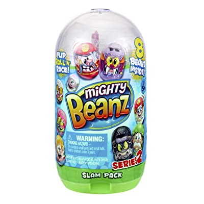 Mighty Beanz 66626 Slam Pack-Styles Vary, Multi Colour: Toys & Games