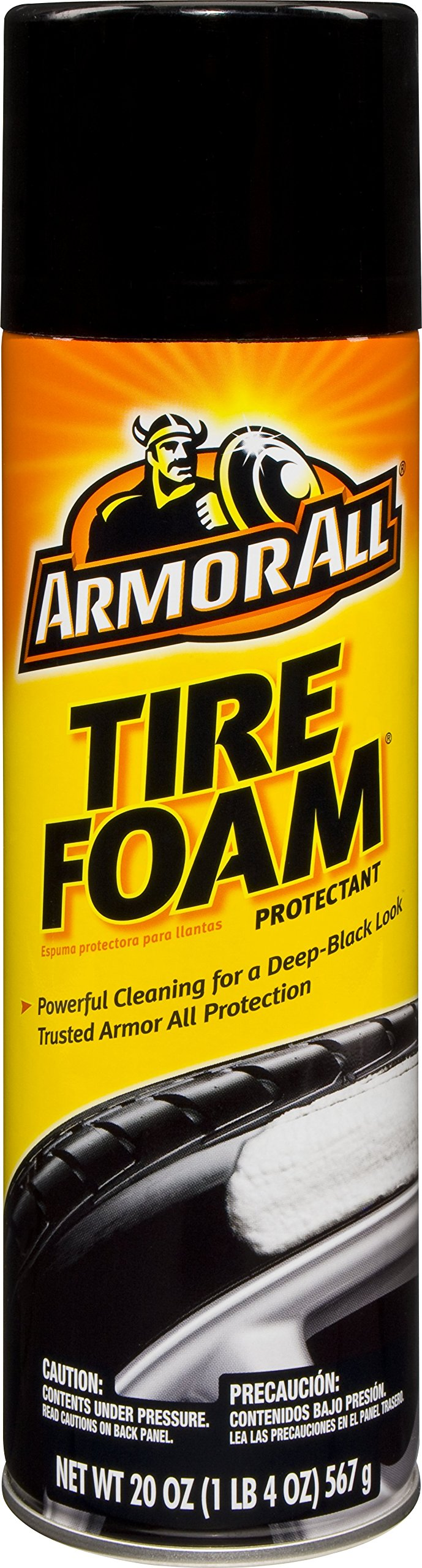 Armor All Tire Foam Protectant Aerosol (20 ounces) (Case of 12)