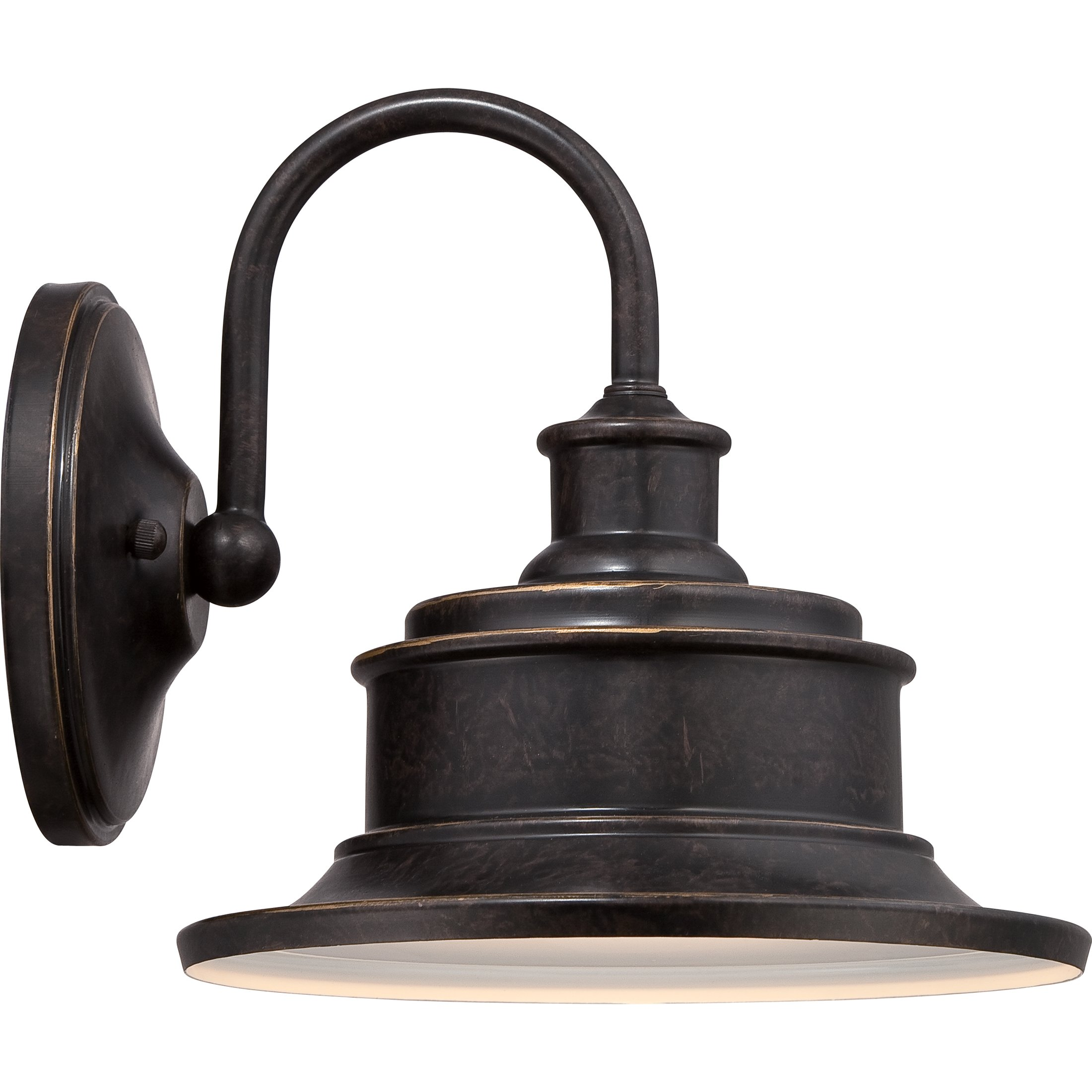 Quoizel SFD8411IB One Light Outdoor Wall Tabletop Lanterns Large Imperial Bronze by Quoizel (Image #4)