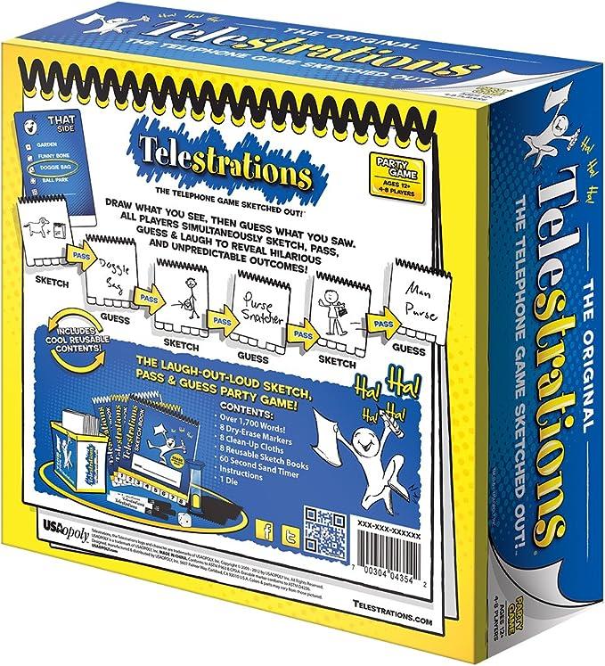Telestrations 8 Player Original by USAopoly: Amazon.es: Juguetes y juegos