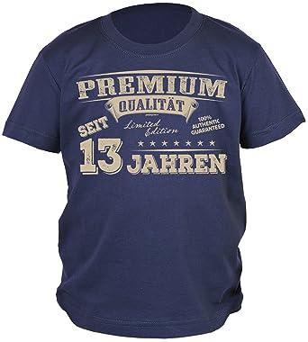Premium Jungen 13 Geburtstag T Shirt Kinder Geschenk 13 Jahre