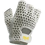 EVERLAST Women's White Mesh Back Lifting Gloves - Small