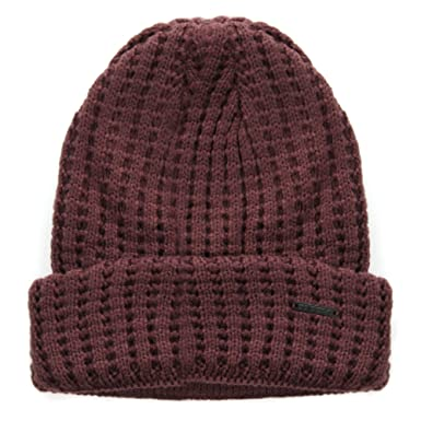 7259d07d867 adidas NEO Knitted Chunky Beanie Hat Red  Amazon.co.uk  Sports ...