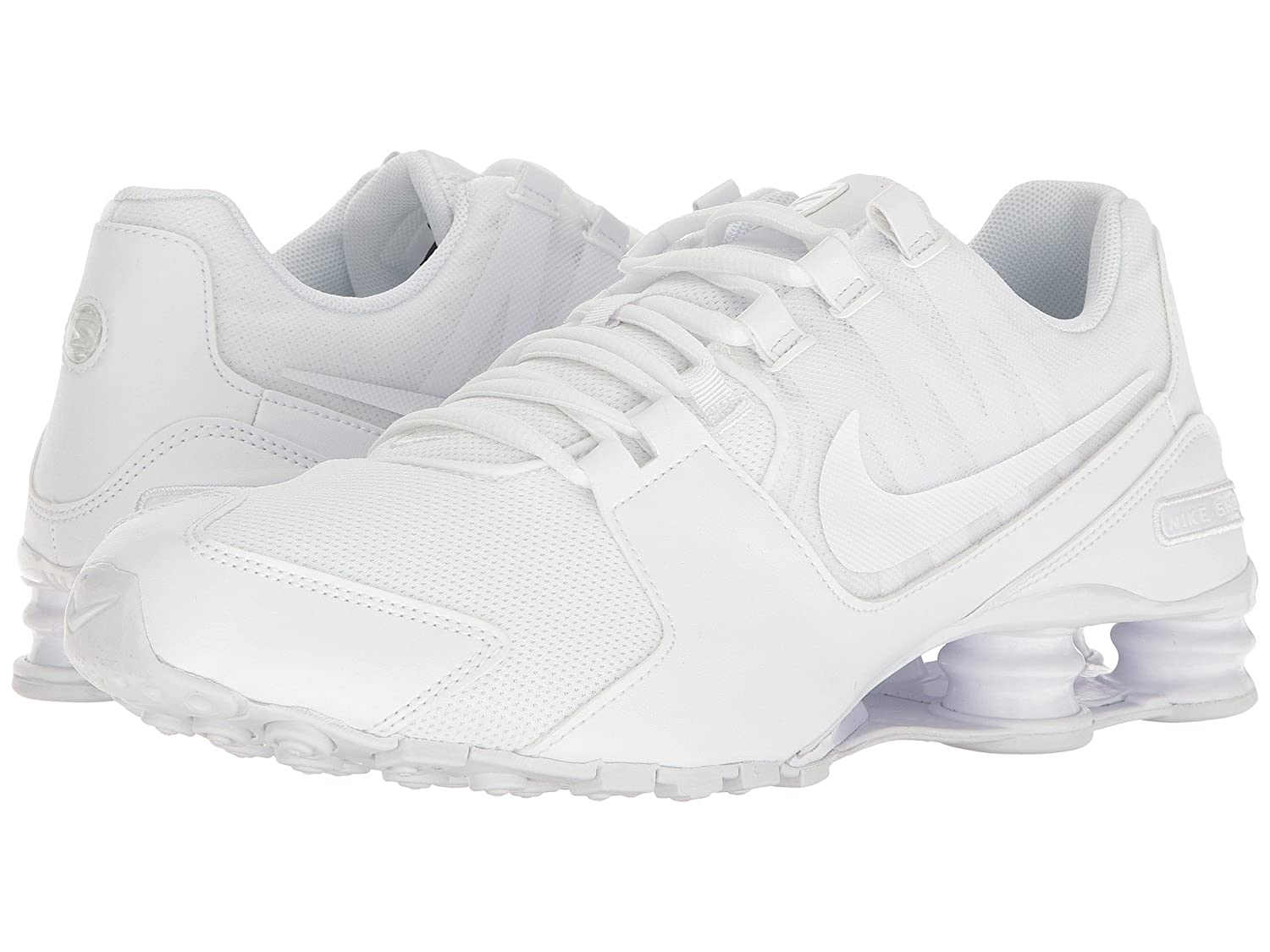 online retailer 20e11 8682e ... shop news nike men shox avenue running shoes white white white white  shop for the best