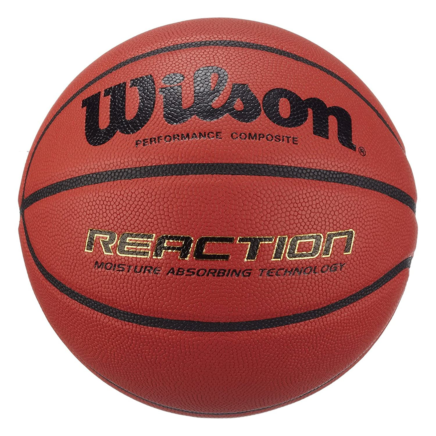 Wilson Indoor-Basketball, Wettkampf, Sportparkett, Granulat, Linolium- oder PVC-Boden, Reaction