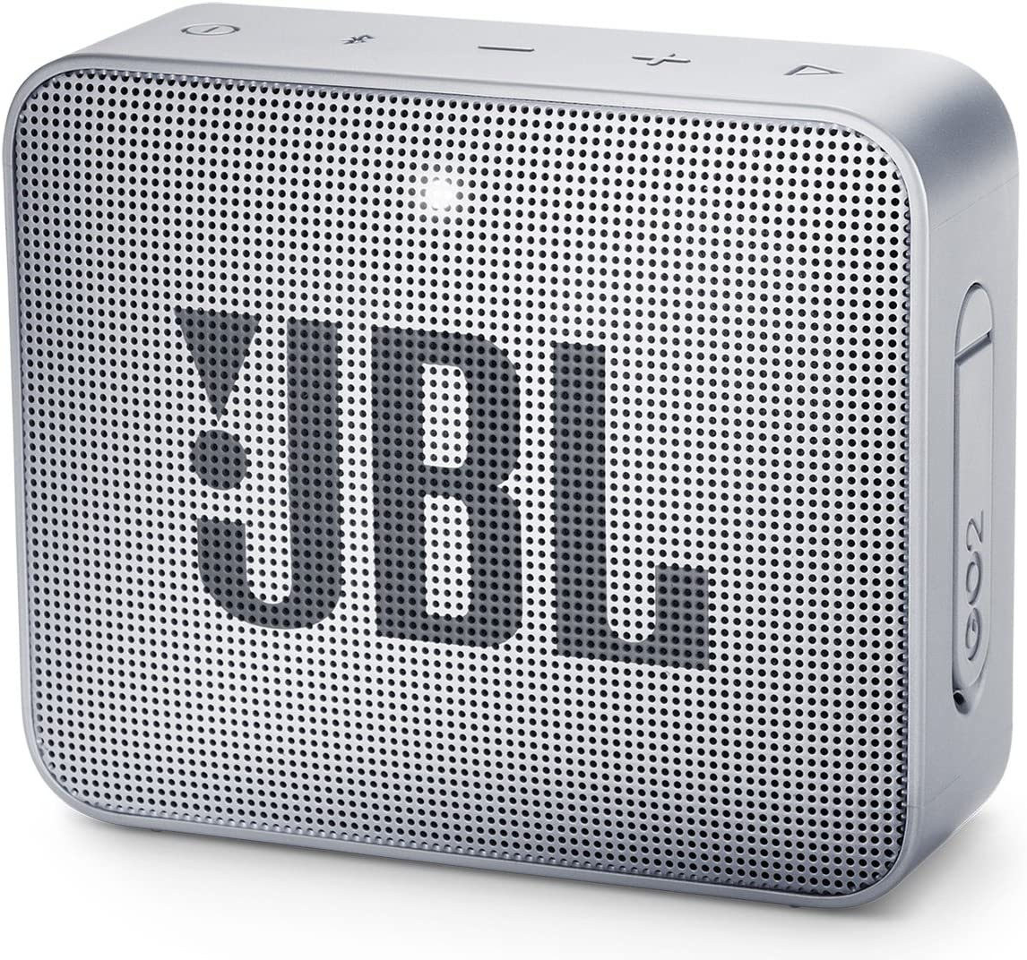 JBL GO2GRYAM GO2 Waterproof Ultra Portable Bluetooth Speaker – Gray