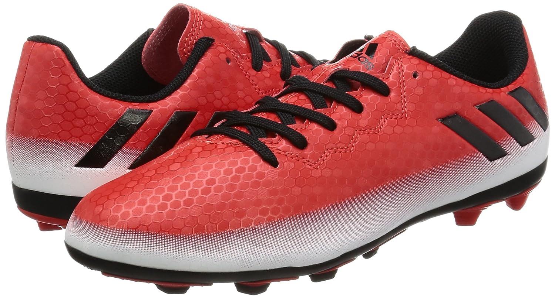 Adidas Messi 16,4 Fxg J, Chaussures De Football Pour Les Enfants, Rouge (rouge / Cblack / Ftwwht), 38 Eu