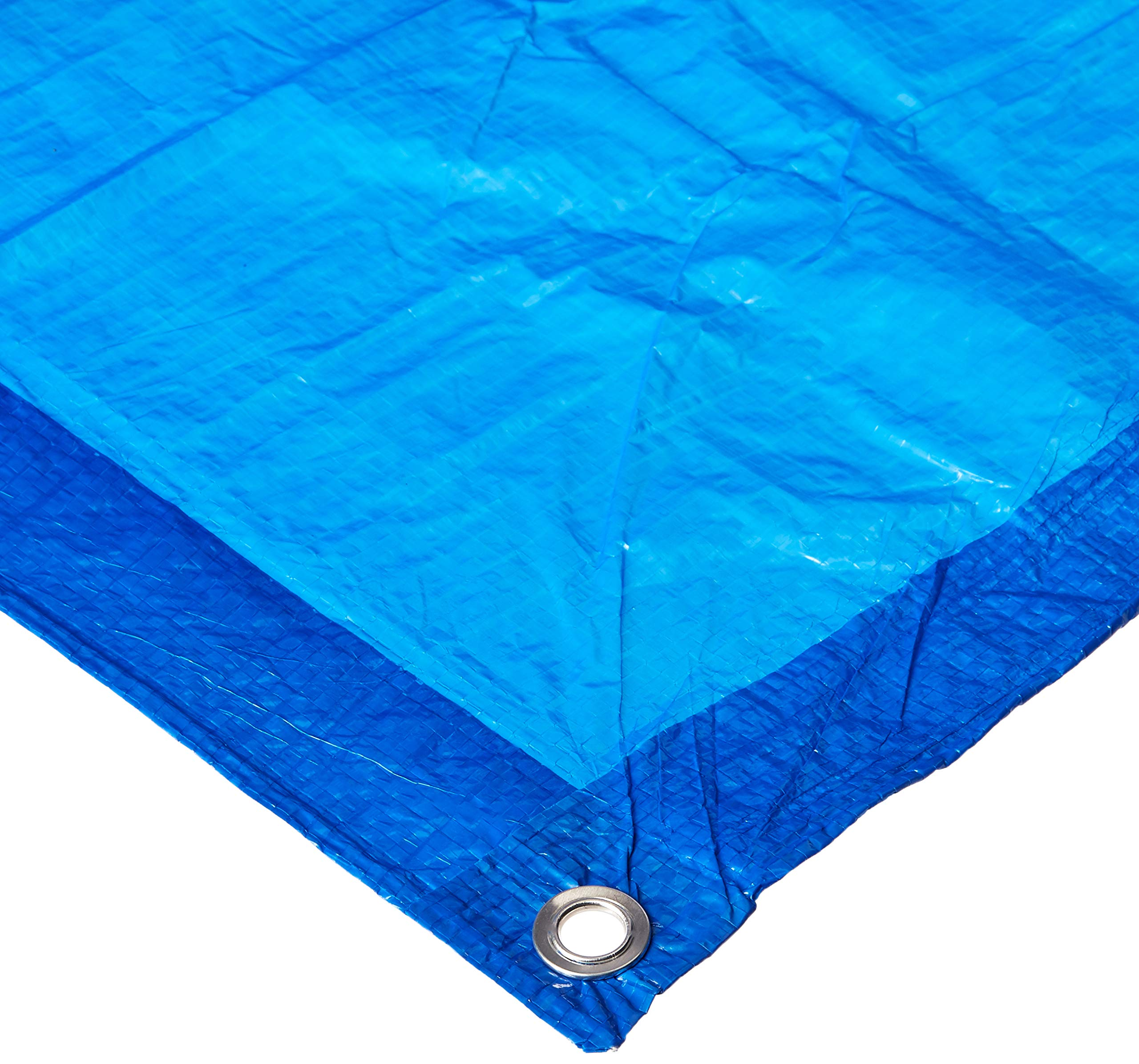 TOOLBASIX T1216BB70 Light Duty Tarp, 16-Feet x 12-Feet, Blue