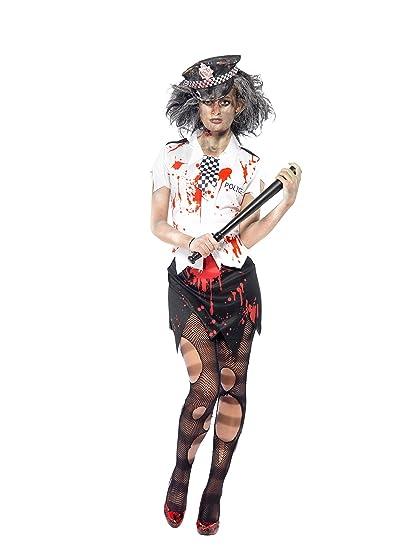 Disfraz de policia zombie Halloween: Amazon.es: Juguetes y juegos