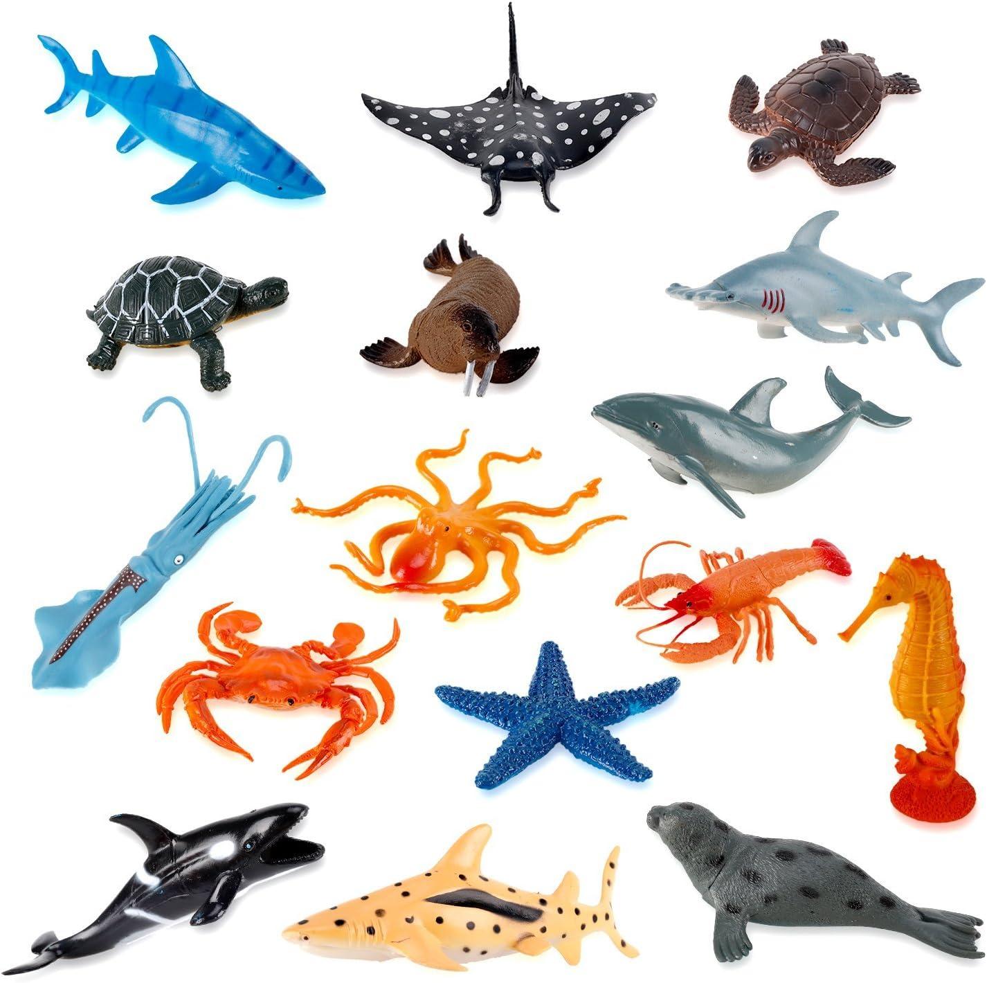 Amazon.com: Liberty Imports Large Deep Sea Animals - Ocean ...