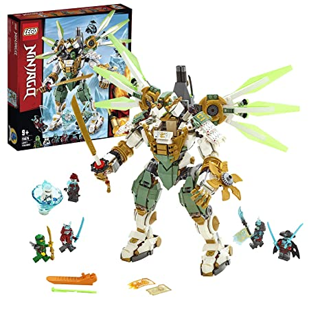 LEGO Ninjago - Titán Robot de Lloyd Set de construcción con Ninja Gigante de Juguete, incluye Minifiguras de Samurais, Novedad 2019 (70676)