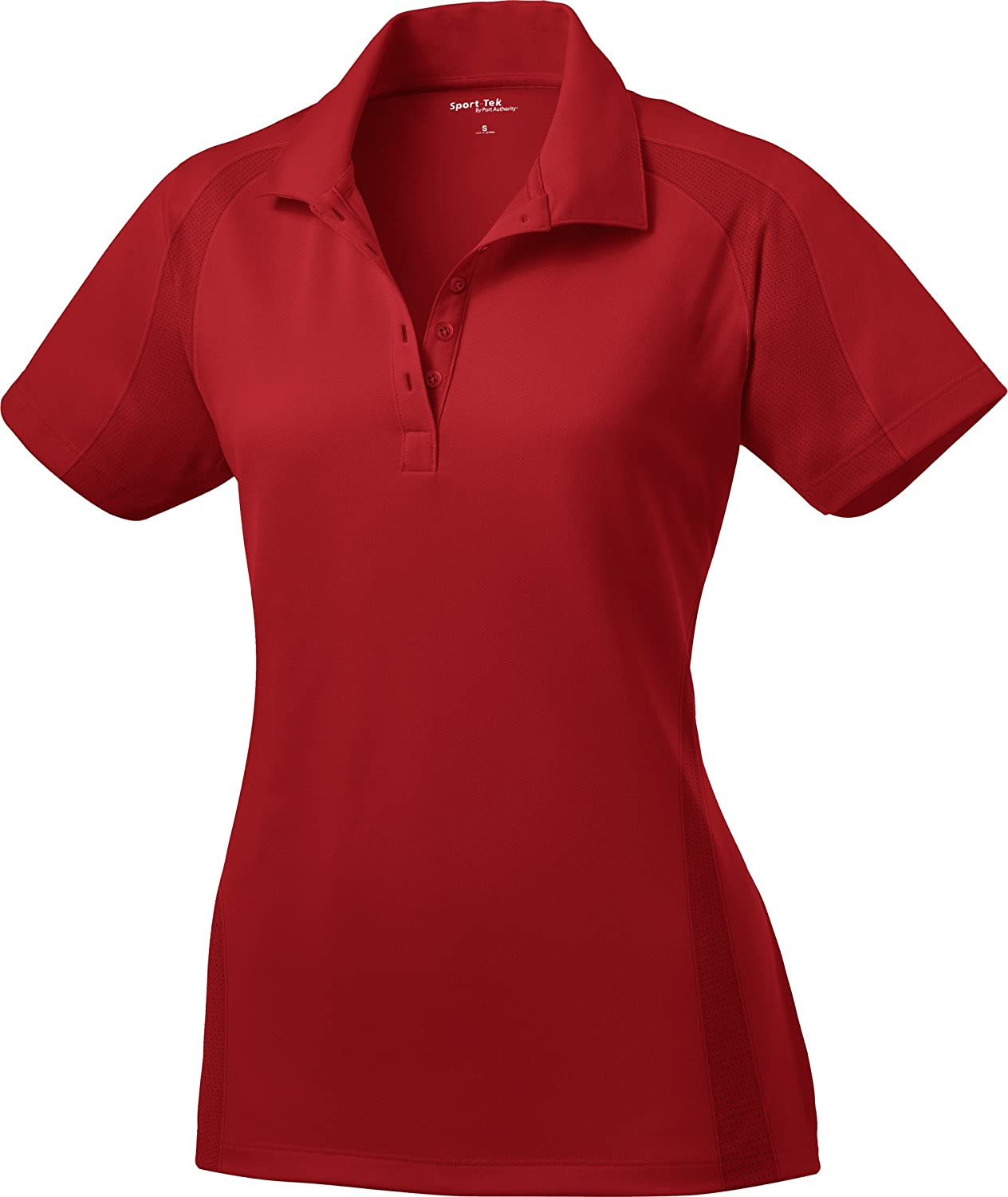Sport Tek Ladies Dri Mesh Pro Performance Polo Shirt L474 Xl Engine