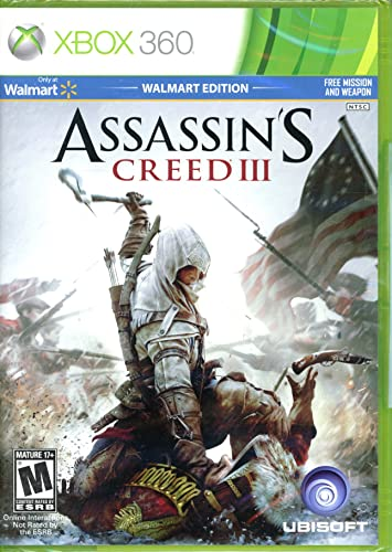Assassin's Creed III Walmart Edition: Amazon in: Video Games