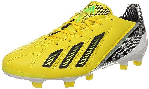 check out 4086f a3afb adidas Adizero F50 TRX Fg Lea, Scarpe da Calcio Uomo, Giallo (Jaune (
