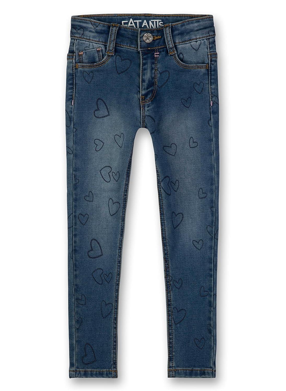 Sanetta Trousers Denim, Jeans Bambina