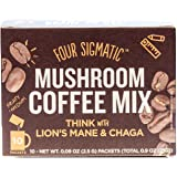 Four Sigma Foods Mushroom Coffee Lions Mane 10 sachets (Pack of 2)