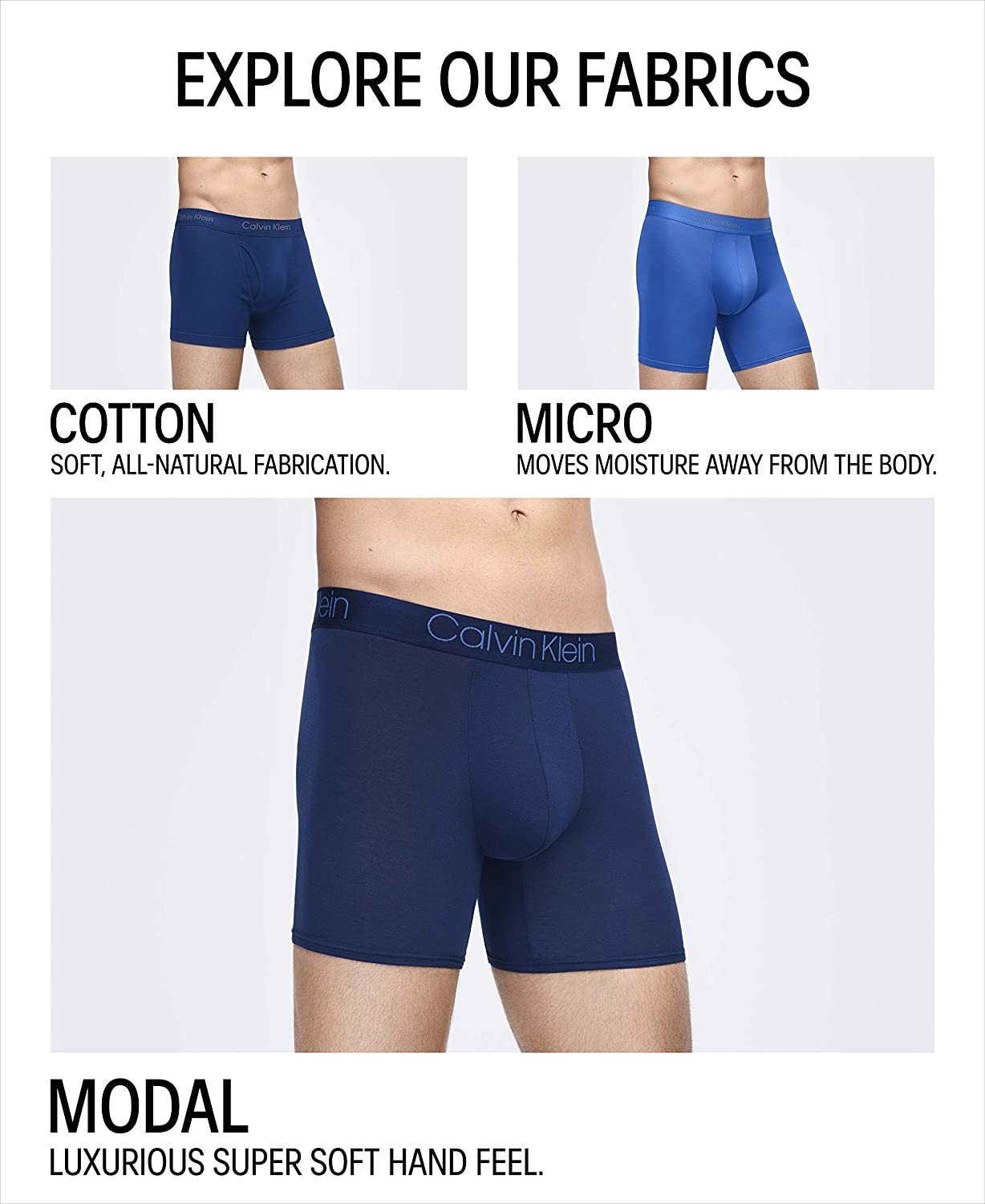 Calvin Klein Men's Body Modal Trunks: Clothing