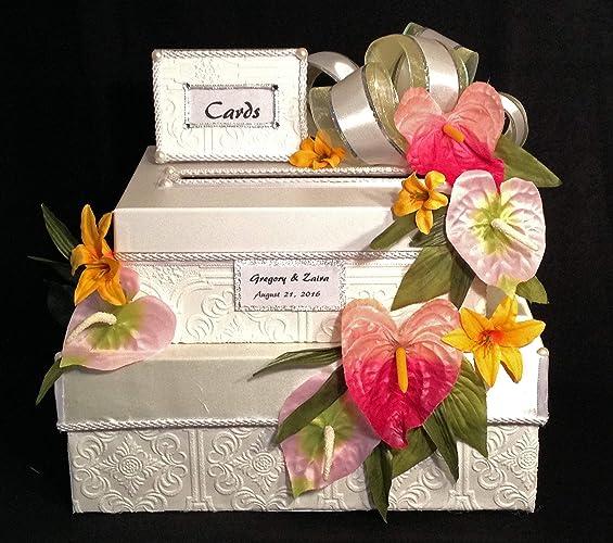 Amazon Com Wedding Card Box Sweet 16 Quinceanera Handmade Two