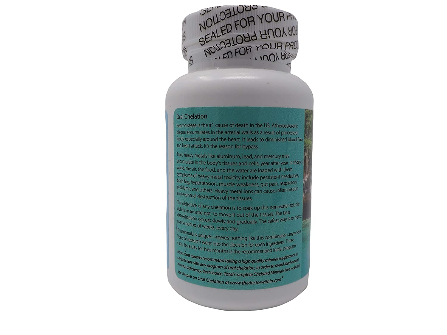 Amazon com: The Doctor Within - Oral Chelation - 90 Capsules: Health