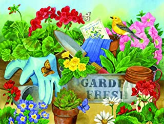 product image for Gardener's Table 500 pc Jigsaw Puzzle by SUNSOUT INC