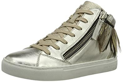 Sneakers for Women On Sale in Outlet, White, Leather, 2017, 3.5 Crime London