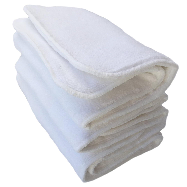 HappyEndings Teen / Adult 4 Layer Microfiber Inserts for Cloth Diapers (3 Pack) HappyEndings Eco Diapers