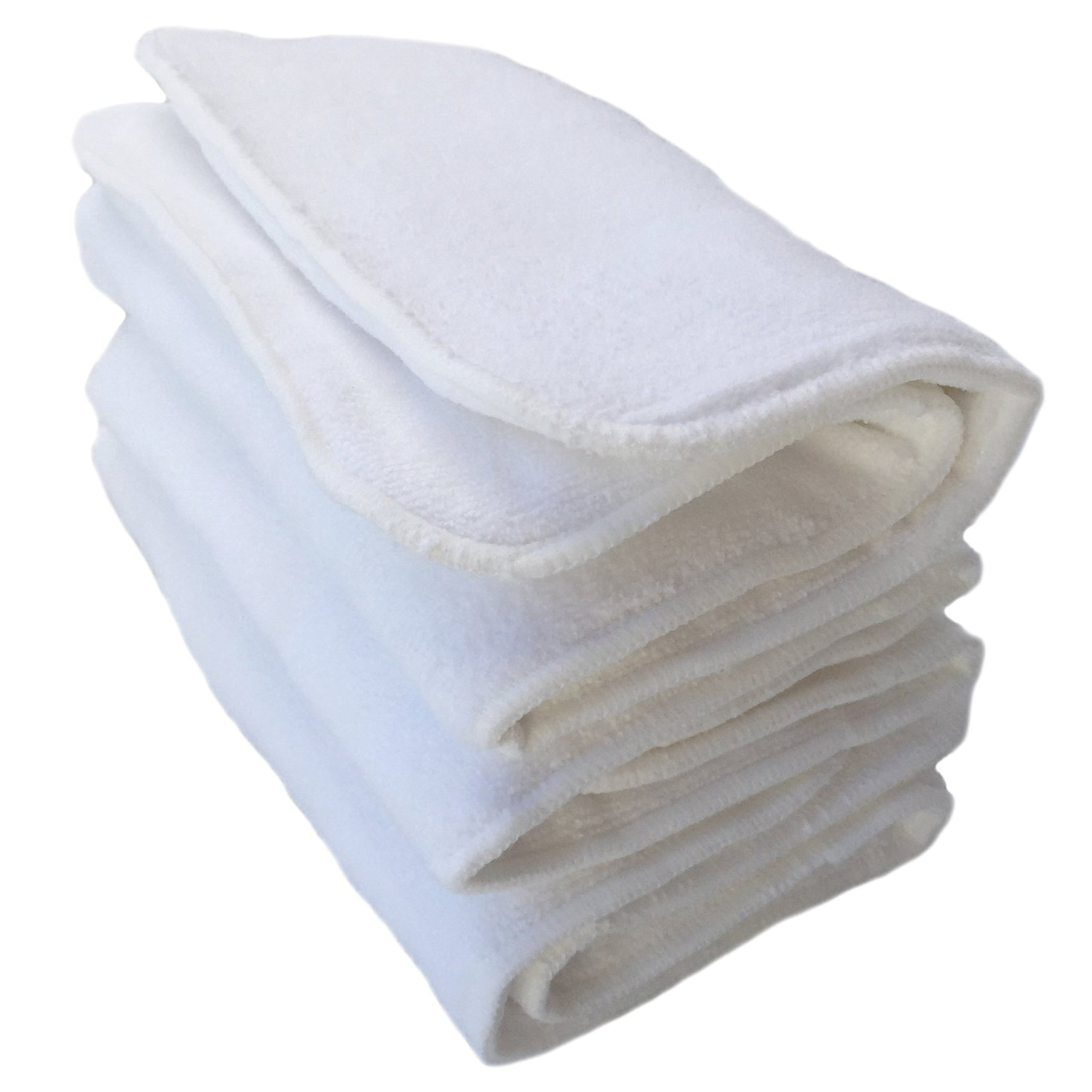 Happy Endings Teen/Adult Inserts for Cloth Diapers Incontinence ((3 Pack) 4 Layer Microfiber Inserts)) by Happy Endings
