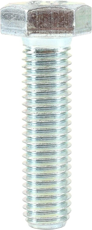 10 x BZP Sechskantschrauben M8 x 70 mm Vollgewinde Sechskant verzinkt Stahl DIN 933