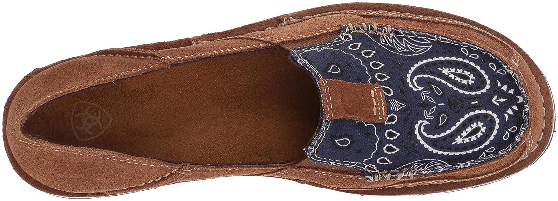 Ariat Women's Cruiser Slip-on Shoe B076MD249B 10 B(M) US|Toffee/Blue Paisley Print