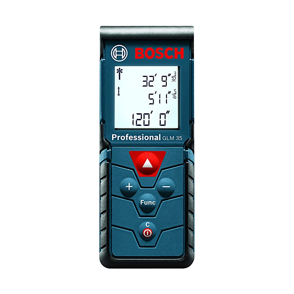 Bosch GLM 35 Laser Measure, 120-Feet Review