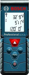 Bosch Compact Laser Distance Measure, 120-Feet GLM 35