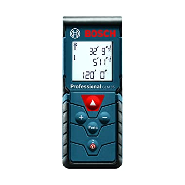 Bosch Compact Laser Distance Measure, 120-Feet GLM 35 (Discontinued by Manufacturer)