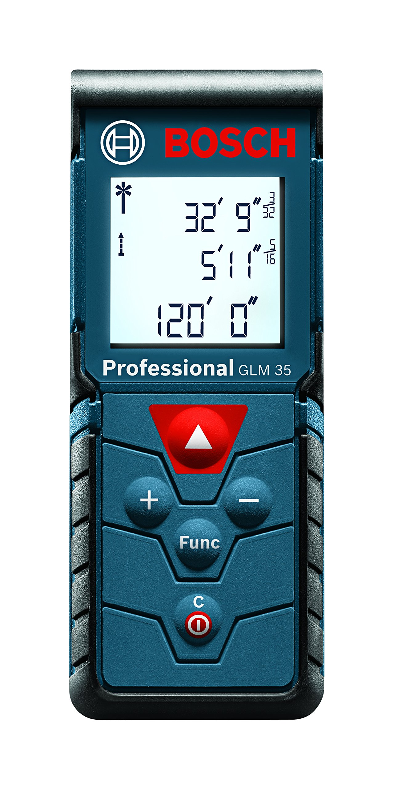 Bosch Compact Laser Distance Measure, 120-Feet GLM 35 by Bosch
