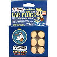 Putty Buddies Floating Earplugs for Swimming & Bathing (Invented by Physician) Keep Water Out) 3-Pair