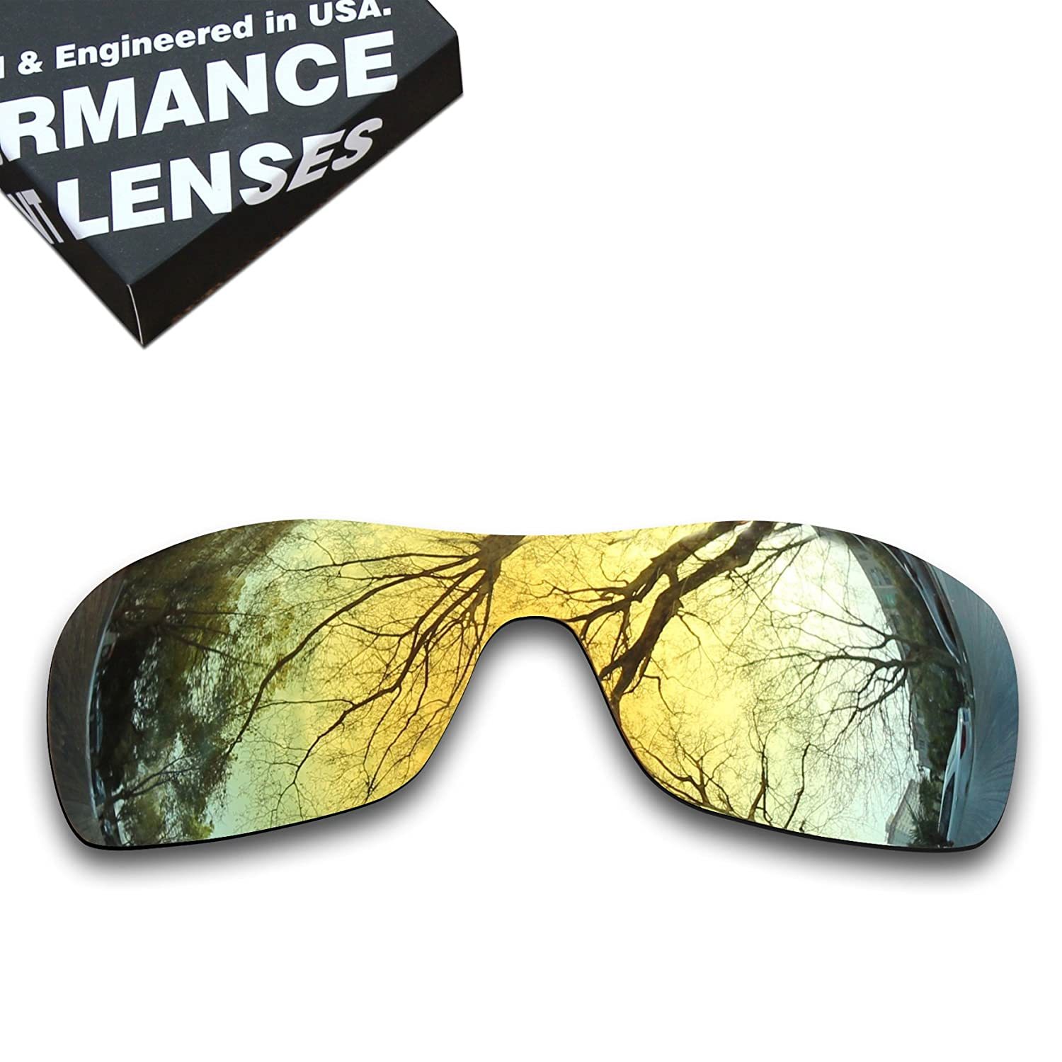 3a3ce62d6d Amazon.com  ToughAsNails Polarized Lens Replacement for Oakley Antix  Sunglass - More Options  Clothing