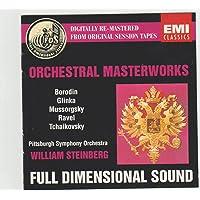 Orchestral Masterworks: Bolero / Capriccio Italien / Night on Bald Mountain / Kamarinskaya...