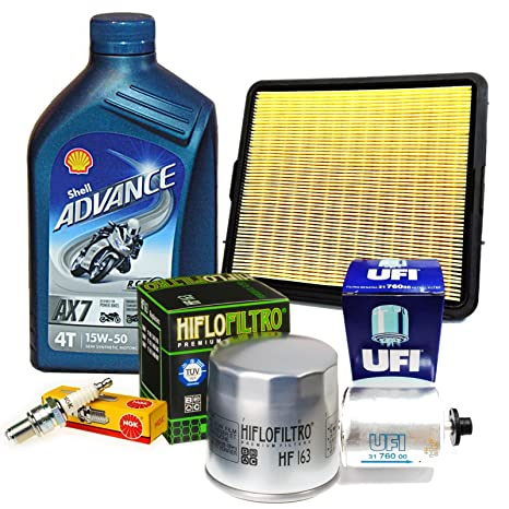 Kit Tagliando para BMW K75 1985 – 1988 con 4 L Aceite Shell Advance AX7 15