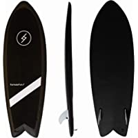 """Formula Fun - Shortboard Fish 5'3"""" - Durable, Waterproof and Flexible Foam Surfboard - Made in The USA 100% Recyclable"""