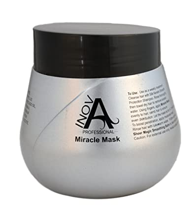 Inova Professional Silk Keratin – The Miracle Mask – Deep Conditioning Mask, 17.6 Fluid Ounce