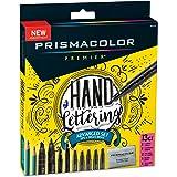 Prismacolor 2023754 Premier Advanced Hand Lettering Set with Illustration Markers, Art Markers, Pencils, Eraser and Tips Pamp