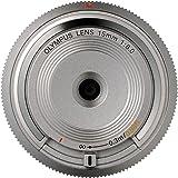 Olympus BCL-15mm f8.0 Body Lens Cap for Olympus/Panasonic Micro 4/3 Cameras (Silver)