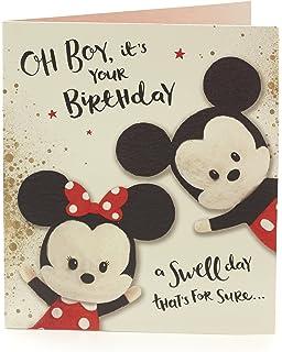 Disney Mickey Mouse Joyeux Anniversaire Carte Amazon Fr Jeux Et Jouets
