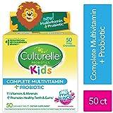 Culturelle 儿童复合维生素+益生菌咀嚼片 50粒