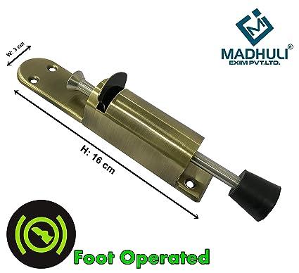 MADHULI� Foot Operated Door Stop, Door Stopper, Door Blocker